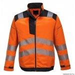 T500 - Vision jól láthatósági kabát - narancs - L