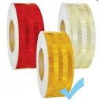 Fényvisszaverő szalag E jeles 44.7 M - Sárga M-CD-3Y 50MM