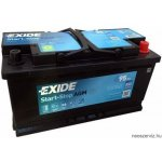 EXIDE AGM EK950 12V 95Ah 850A akkumulátor J+