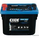 EXIDE MAXXIMA 900DC DUAL EP450 12V 50Ah 750A spirálcellás AGM akkumulátor B+