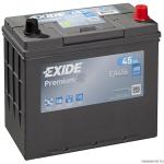 EXIDE PREMIUM EA456 12V 45Ah 390A akkumulátor J+ Japán