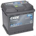 EXIDE PREMIUM EA530 12V 53Ah 540A akkumulátor J+