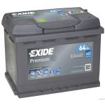 EXIDE PREMIUM EA640 12V 64Ah 640A akkumulátor J+