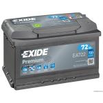 EXIDE PREMIUM EA722 12V 72Ah 720A akkumulátor J+