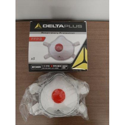 FFP3 - DELTAPLUS M1300VC szelepes részecskeszűrő félálarc
